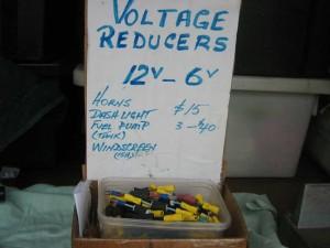 Voltage reducer 1